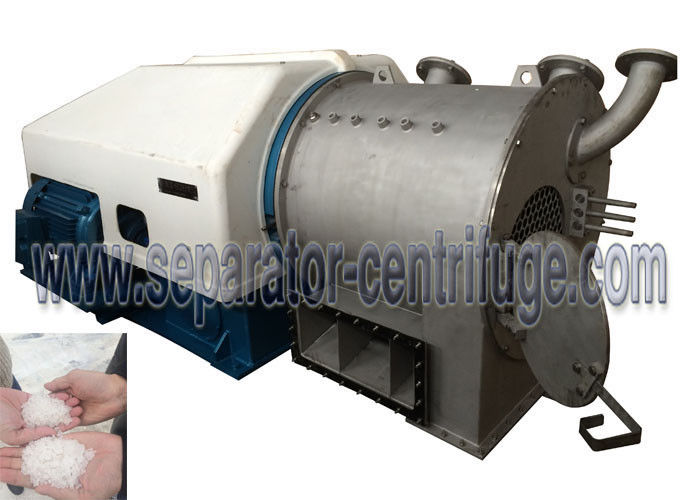 High Performance Automatic Continuous Sulzer Model PP Double Stage Pusher Refining Salt Centrifuge